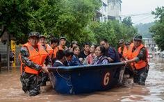 Mưa tiếp tục đổ xuống khu vực miền nam Trung Quốc, hàng trăm người chết, mất tích