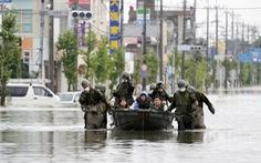 Ít nhất 50 người chết vì mưa lụt, Nhật Bản tăng tốc cứu hộ