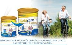 Goldcare canxi – Sữa tốt dành cho người loãng xương