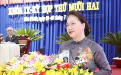 Chủ tịch Quốc hội đánh giá cao công tác cán bộ nữ, bình đẳng giới ở Bình Phước