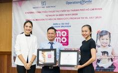 4 triệu Heo Vàng từ ví MoMo hỗ trợ 120 em mổ dị tật hàm mặt