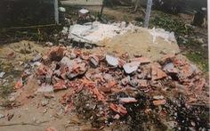 Bắt giam nghi phạm đào mộ người chết lên đốt vì không trả tiền lãi vay