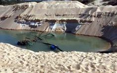Khó xử vụ trộm cát rành rành vì tỉnh 'sợ… bị kiện'