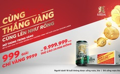 Nhìn lại chặng đường 'Cùng thắng Vàng, cùng lên như Rồng' với Bia Saigon Lager