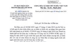 UBND TP.HCM phê bình Sở GD-ĐT vì tổ chức đoàn đi công tác Nhật Bản