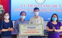 Các hoạt động phòng chống COVID-19 tại THACO