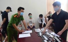 Bắt 7 người Trung Quốc có hành vi đánh bạc qua mạng