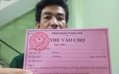 Đi chợ 'tem phiếu' sáng nay ở Đà Nẵng