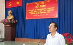 Ông Phạm Minh Mẫn giữ chức chủ tịch UBND quận Tân Phú
