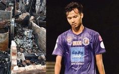 Nhà bị cháy rụi, cầu thủ Thái Lan đăng Facebook xin mọi người giúp đỡ