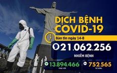 Dịch COVID-19 sáng 14-8: WHO nói thế giới đủ lo rồi, đừng sợ thực thẩm 'lây' virus corona