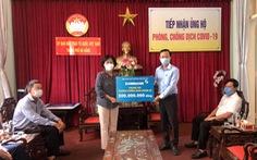 Eximbank ủng hộ 500 triệu đồng tiếp sức Đà Nẵng chống dịch