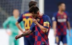 Trao đổi với HLV Koeman, Messi nói 'không thấy tương lai ở Barca'