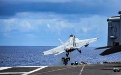 Tàu sân bay USS Ronald Reagan quay trở lại biển Đông