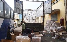Tạm giữ 127.000 sản phẩm tân dược không rõ nguồn gốc trên xe tải