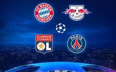 Pháp - Đức 'đại chiến' ở bán kết Champions League