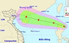 Rạng sáng 17-8, áp thấp nhiệt đới hướng vào Bắc Biển Đông, khả năng thành bão