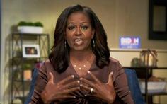 Bà Michelle Obama tin ông Biden sẽ giúp Mỹ vượt qua khủng hoảng