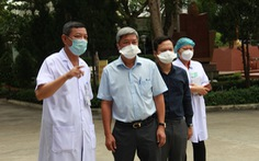 Dịch ở Đà Nẵng đang dần ổn định, Thứ trưởng Nguyễn Trường Sơn rời đi vào ngày mai
