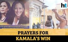 Dân làng Ấn Độ cầu khấn bà Kamala Harris trở thành phó tổng thống Mỹ