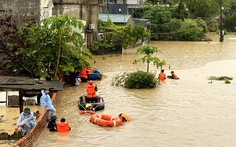 Bão số 4 vào đất liền Trung Quốc, miền Bắc nhiều nơi mưa lớn, nguy cơ lũ quét