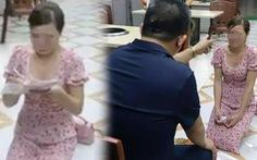 Triệu tập chủ quán bắt nữ khách hàng quỳ gối xin lỗi vì 'bóc phốt' đồ ăn có sán