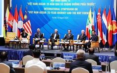 Ông Vũ Khoan: 'ASEAN là bậc thang đầu tiên để Việt Nam hội nhập với thế giới'