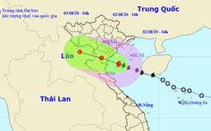 Cách bờ 120km, bão số 2 gây mưa to đến rất to từ Thanh Hóa đến Quảng Bình