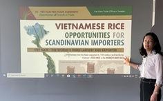Thêm cơ hội xuất khẩu gạo Việt sang Thụy Điển từ EVFTA