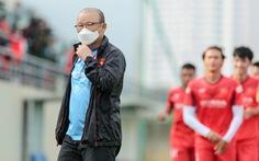 U22 Việt Nam đấu tập nội bộ, HLV Park Hang Seo chỉ cho đá 60 phút/trận