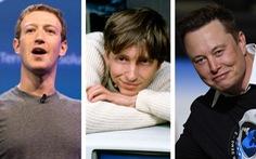 Tỉ phú đôla ngày càng trẻ hóa: Bill Gates ở tuổi 31, Mark Zuckerberg tuổi 23