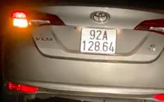 Phạt 1,5 triệu, tước bằng 2 tháng người lái xe vào đường cấm ở phố cổ