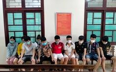 Phát hiện 10 thanh niên mừng sinh nhật, chơi ma túy giữa mùa dịch ở Đà Nẵng