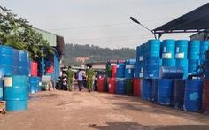 Cơ sở sản xuất thùng xe rùa xả nước thải chưa qua xử lý ra môi trường