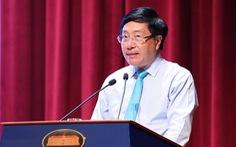 Phó thủ tướng Phạm Bình Minh: Việt Nam đối mặt thách thức an ninh biển đảo