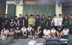 Gần 100 cảnh sát truy bắt 21 người Trung Quốc trốn truy nã ở Lào Cai