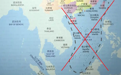 Úc thu hồi sách dạy tiếng Trung có 'đường lưỡi bò' 23 đoạn ăn vào sát đất liền Việt Nam
