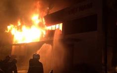 Khoảng 4.000m2 kho hàng gia dụng Công ty Sunhouse Miền Nam bị thiêu rụi