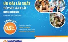 LienVietPostBank - Chung tay cùng cá nhân và hộ kinh doanh trong mùa dịch