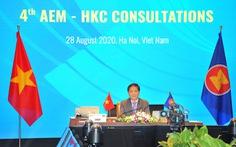 Thúc đẩy hiệp định thương mại và đầu tư ASEAN - Hong Kong thực thi cuối năm 2020