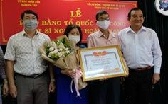 """Cha 'hiệp sĩ"""" Nguyễn Hoàng Nam: con tôi đã hi sinh không vô ích"""