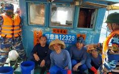 Tàu cá Trung Quốc vào đánh bắt trái phép ở vùng biển gần đảo Cồn Cỏ