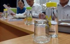 Dừng ngay đồ nhựa dùng một lần tại các công sở