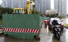 123 'lô cốt' lại choán đường sá Sài Gòn