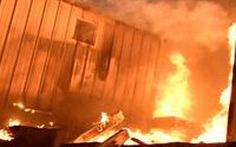 Do ghen tuông, người phụ nữ leo rào vào đốt công ty, gây thiệt hại 5 tỉ đồng