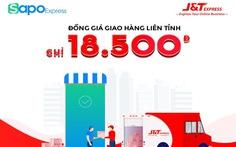 Chuyển phát nhanh J&T Express đồng giá giao hàng liên tỉnh chỉ 18.500đ trên Sapo
