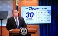 Mỹ sẽ loại các ứng dụng Trung Quốc 'không đáng tin', kêu gọi rút giấy phép China Telecom
