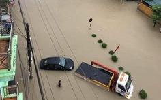 Vừa nâng cấp hệ thống thoát nước, TP Điện Biên Phủ ngập như sông sau mưa lớn