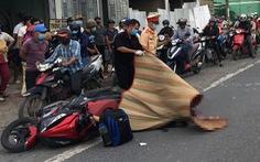 Xe tải cán chết người đi xe máy, quốc lộ 51 ùn ứ kéo dài