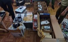 Công an Hà Nội thu giữ 150 thiết bị công nghệ cao để gian lận khi thi